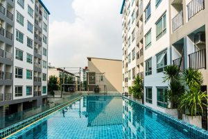 condo outdoor swimming pool
