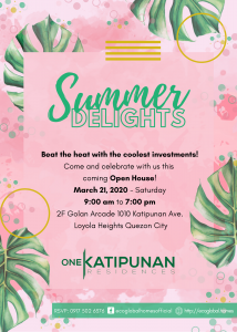 Summer Delights invitation
