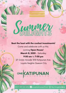 Summer Delights invitation